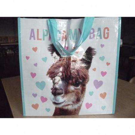 Herbruikbare shopper Alpaca My Bag