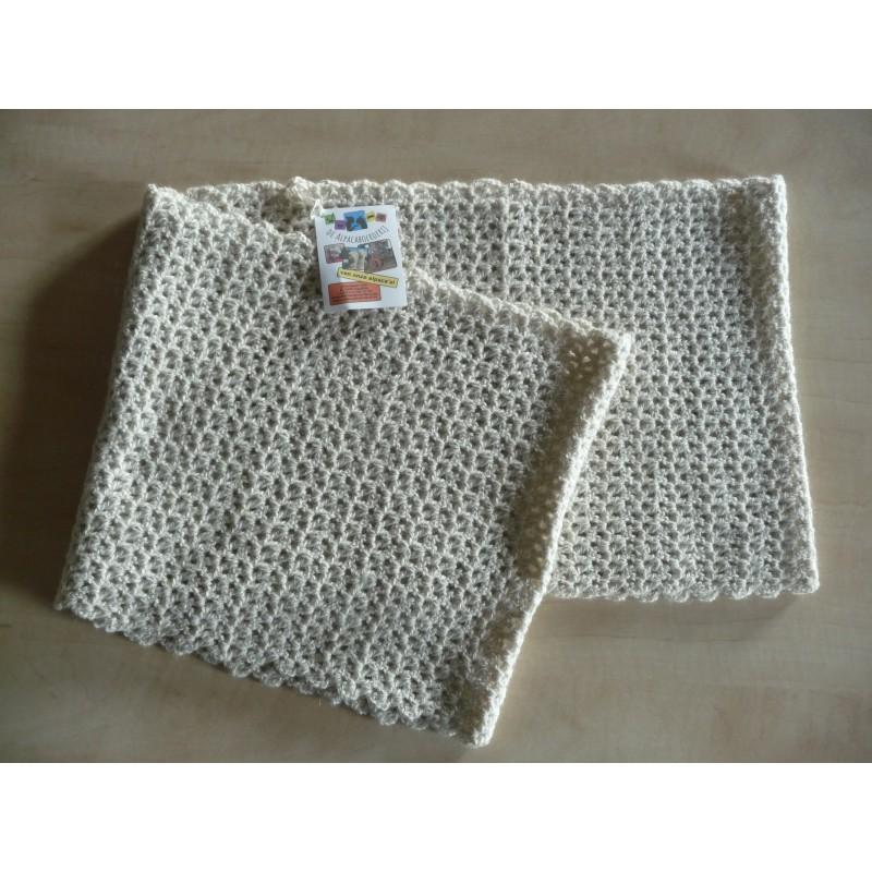 Handgemaakt: infinity sjaal XL